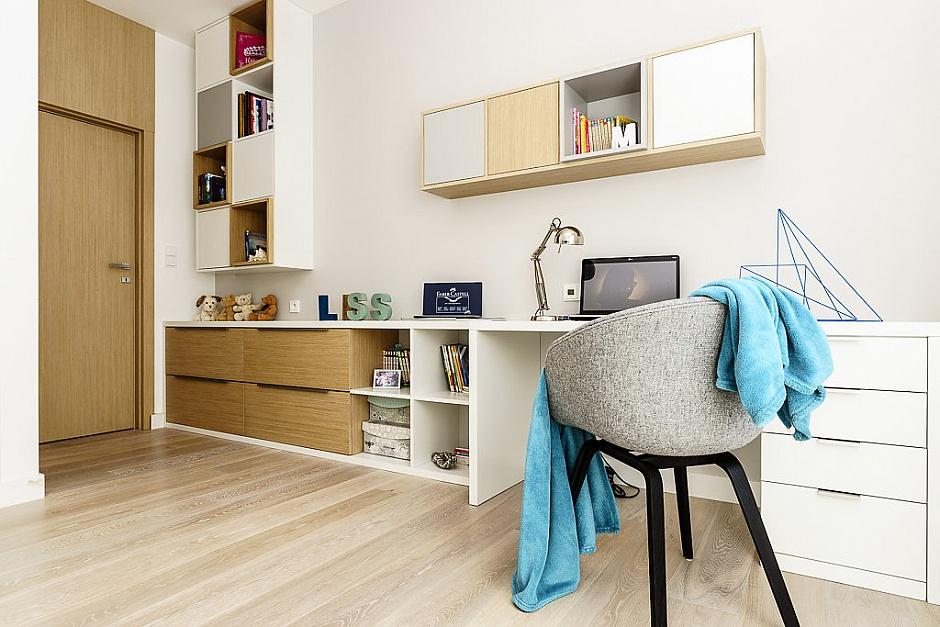 стилен апартамент със светъл интериор в полша_детска стая_2