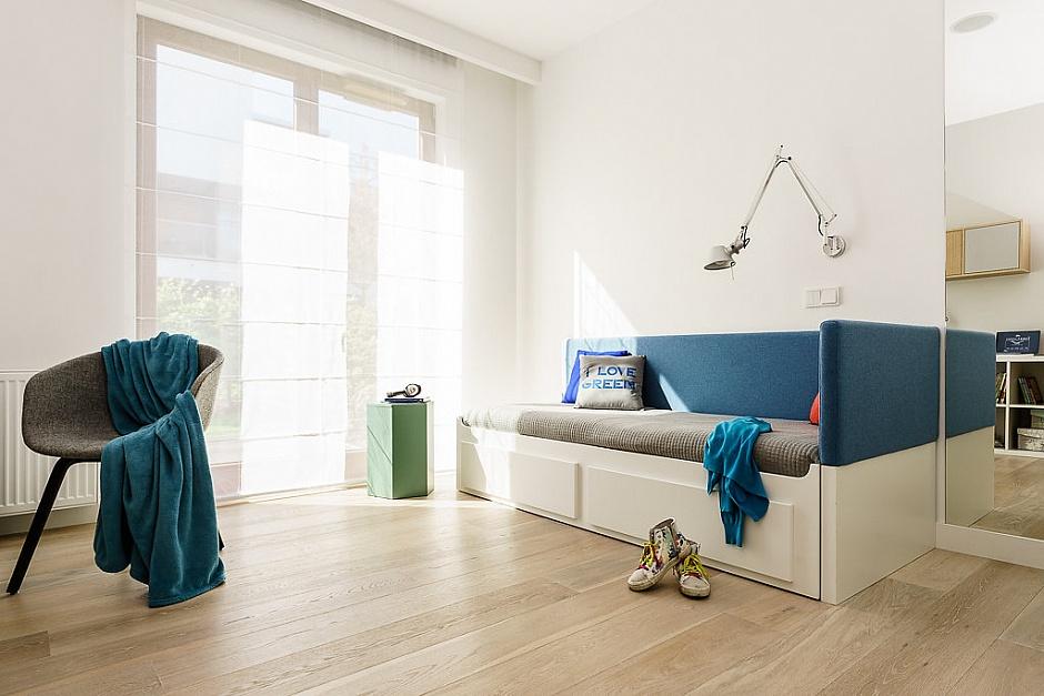 стилен апартамент със светъл интериор в полша_детска стая_4