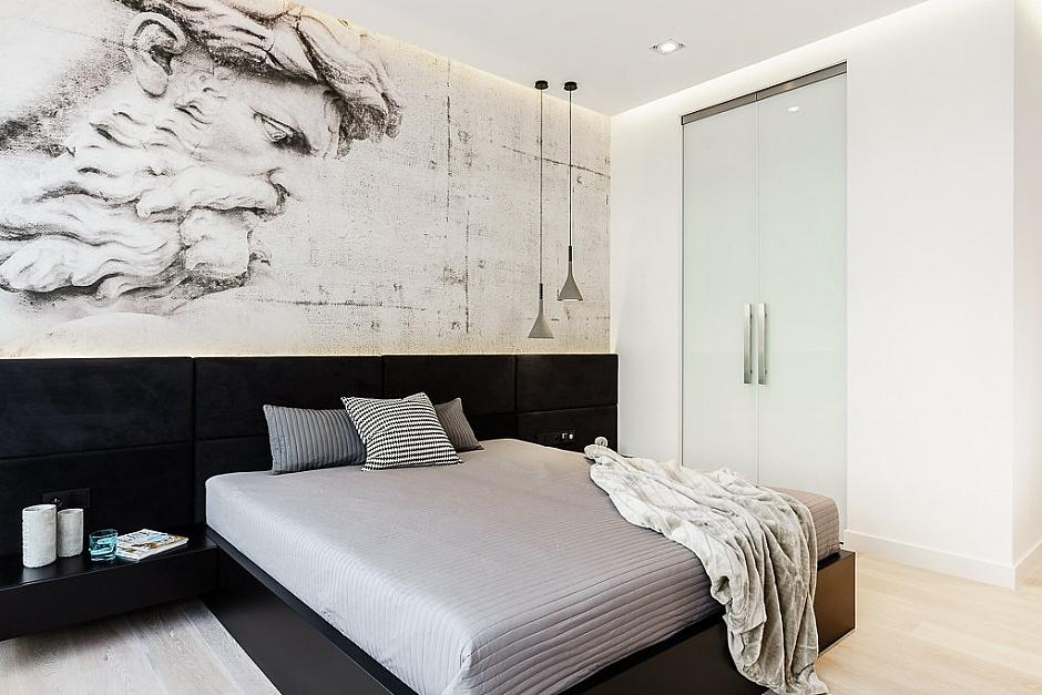 стилен апартамент със светъл интериор в полша_спалня_2