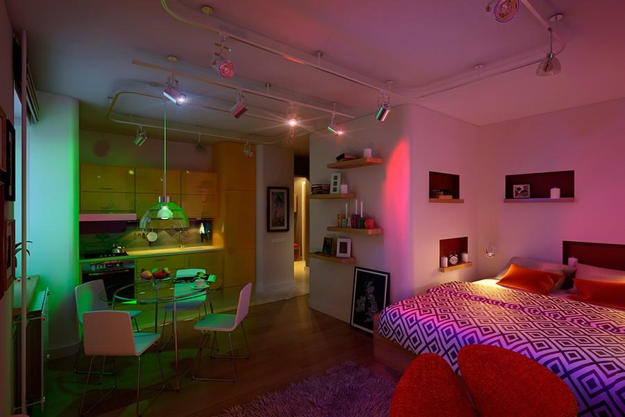 Малък цветен апартамент-4
