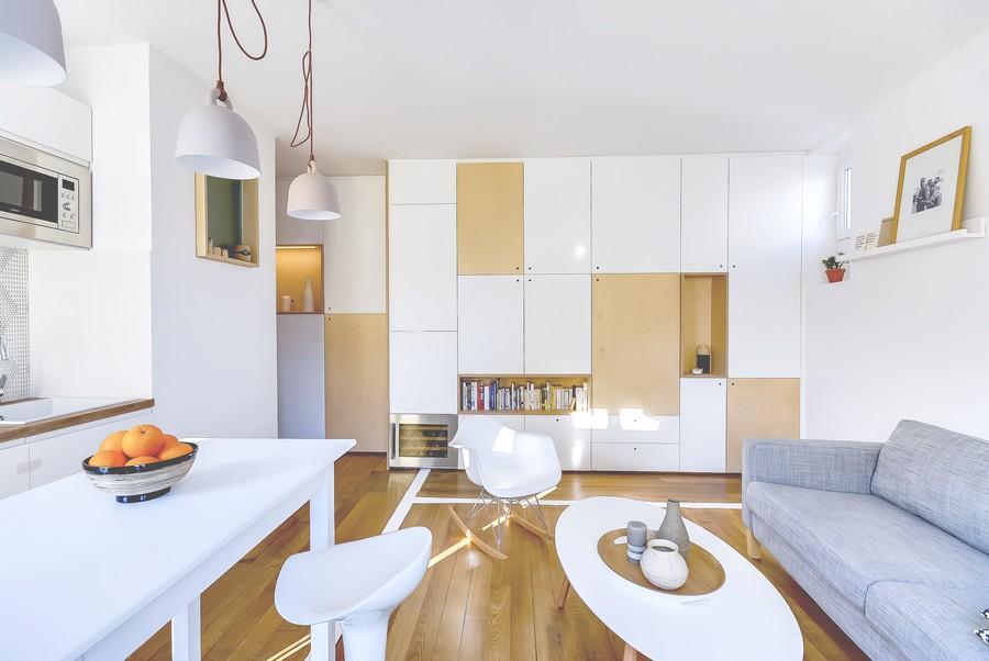 апартамент за двама в Париж 6