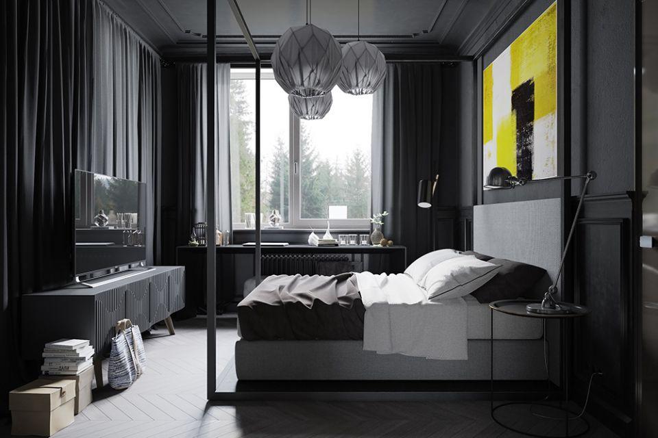 индустриален стил и черно 16