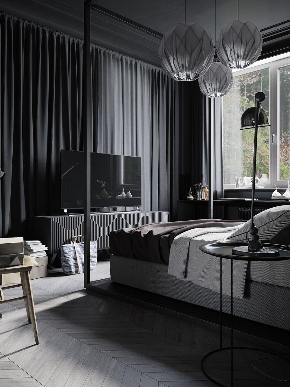 индустриален стил и черно 17