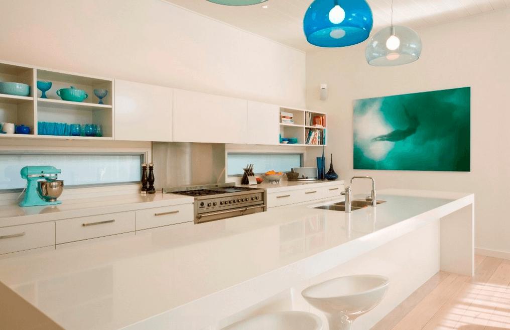 кухня в бяло 26