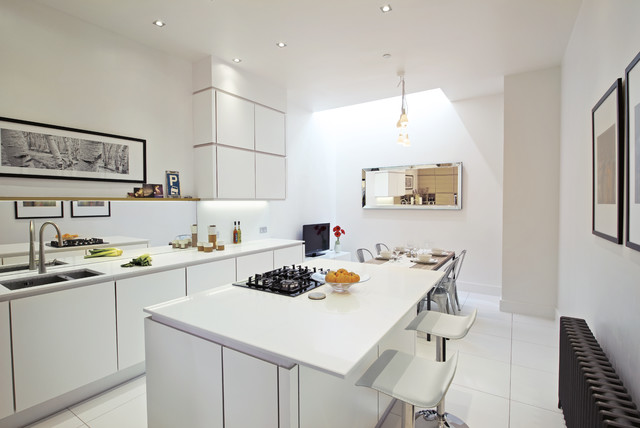 кухня в бяло 28