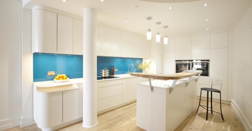 кухня в бяло 32