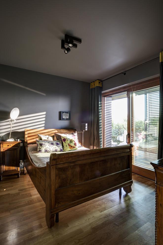 просторен апартамент торино спалня
