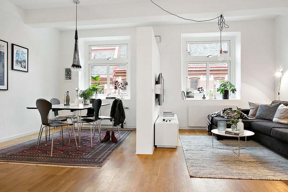 скандинавски апартамент 10
