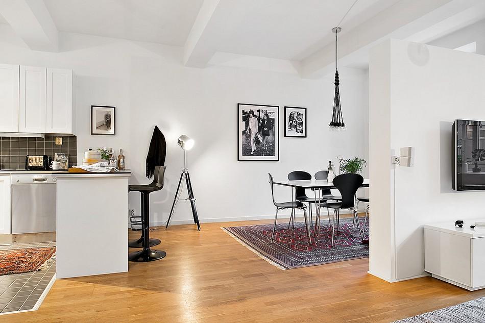 скандинавски апартамент 15