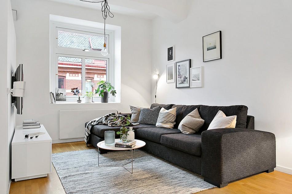скандинавски апартамент 8