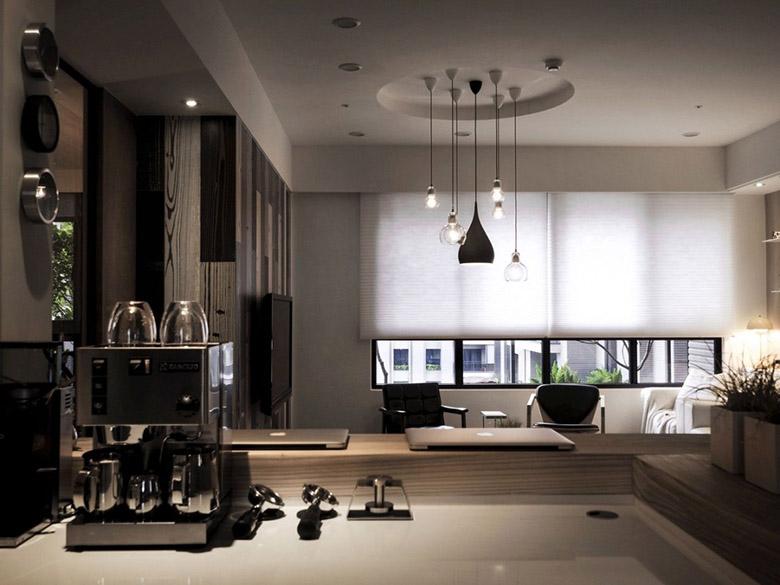уютен апартамент в тайван с място за четене_13