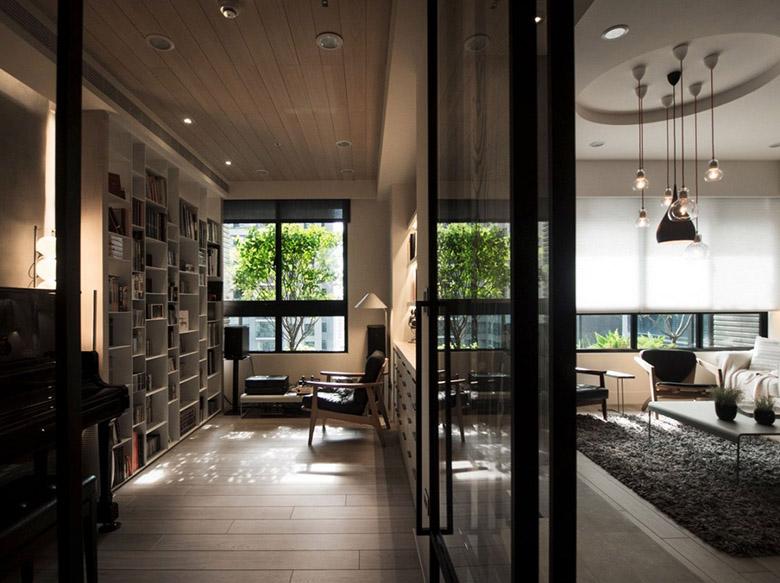 уютен апартамент в тайван с място за четене_7