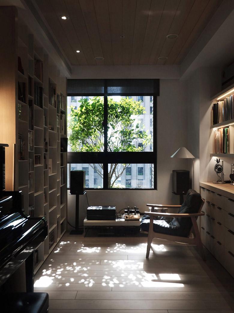 уютен апартамент в тайван с място за четене_8
