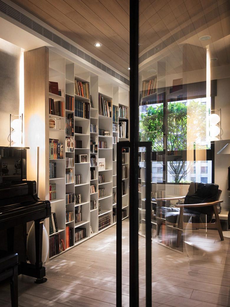уютен апартамент в тайван с място за четене_9