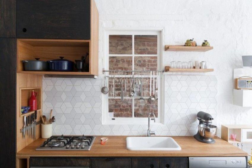кухнески гръб с геометрични фигури 11