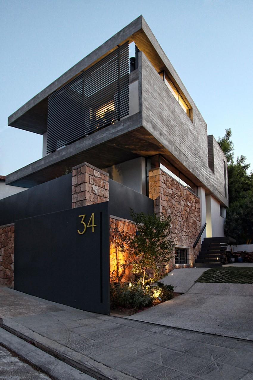 къща в Атина 13