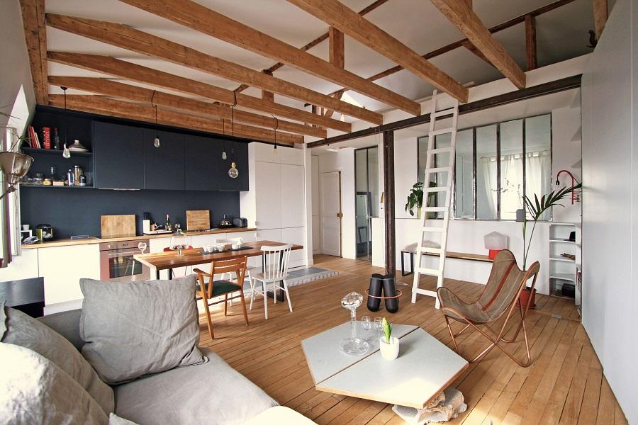 малък апартамент в париж 10