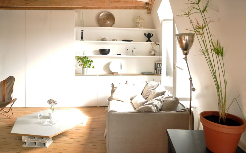 малък апартамент в париж 6