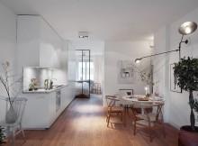 малък скандинавски апартамент 1