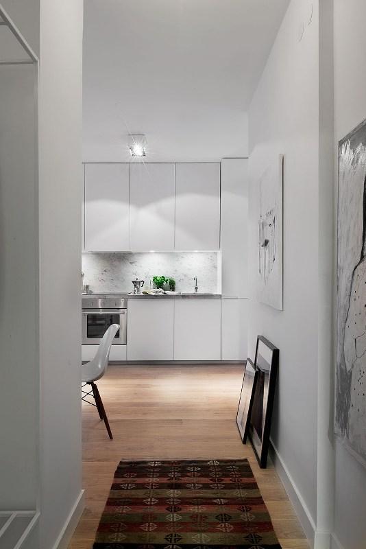 малък скандинавски апартамент 7
