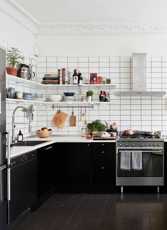 черно бяла кухня 1