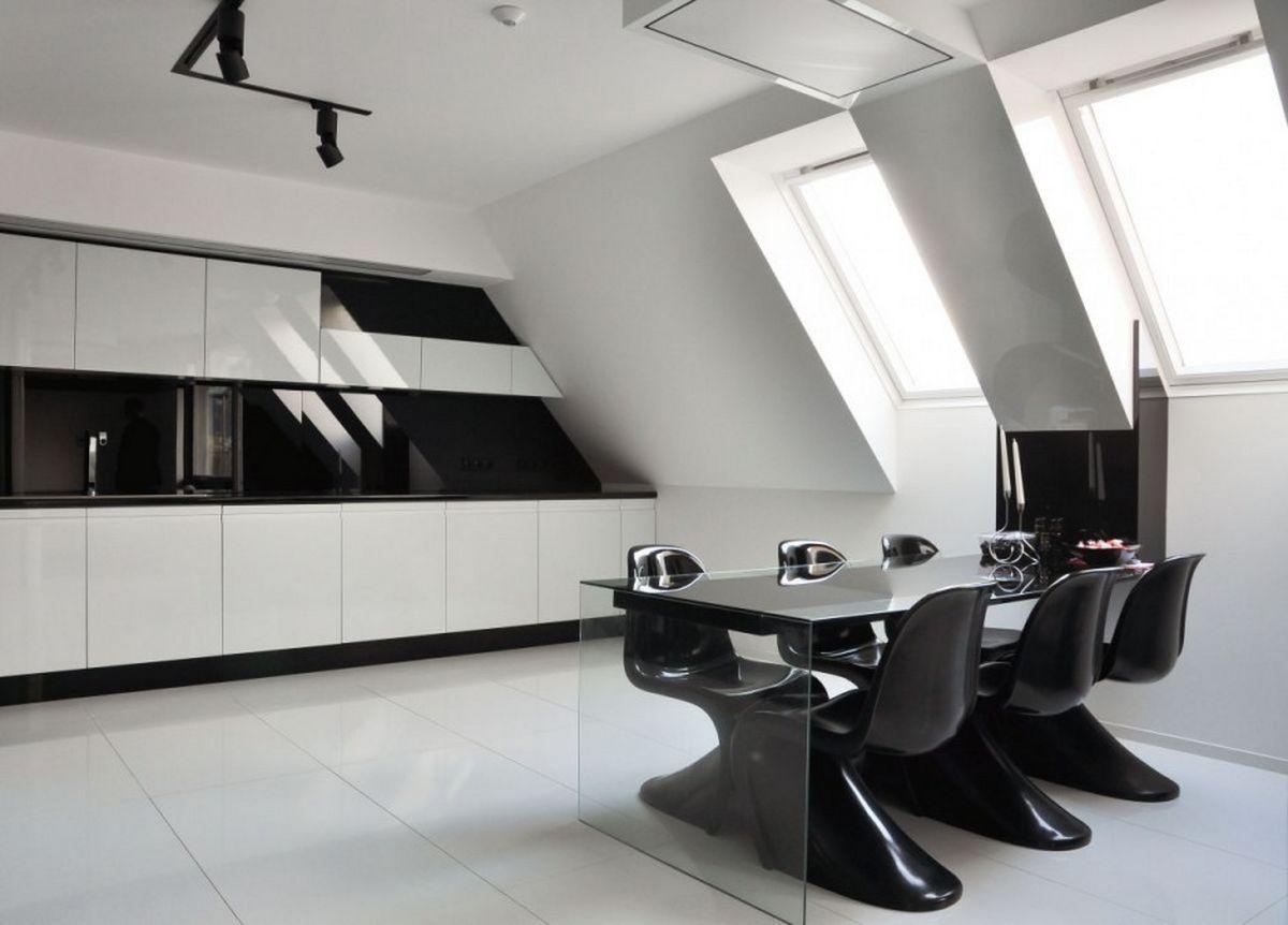 черно бяла кухня 14