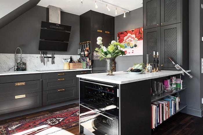 черно бяла кухня 20