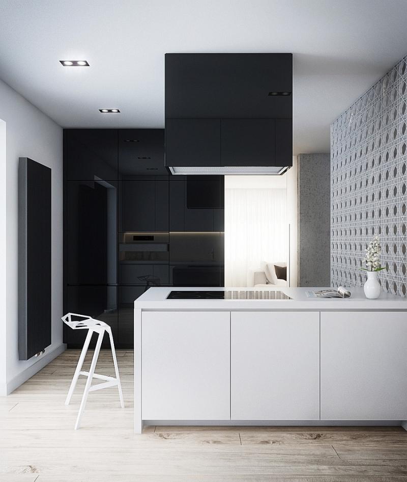черно бяла кухня 3