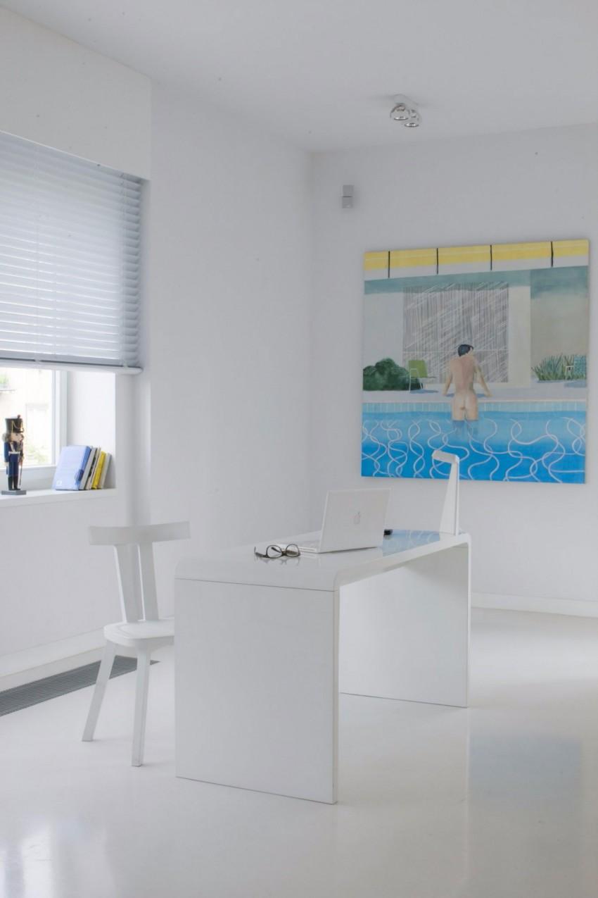 апартамент в бяло с артистична стена - 10
