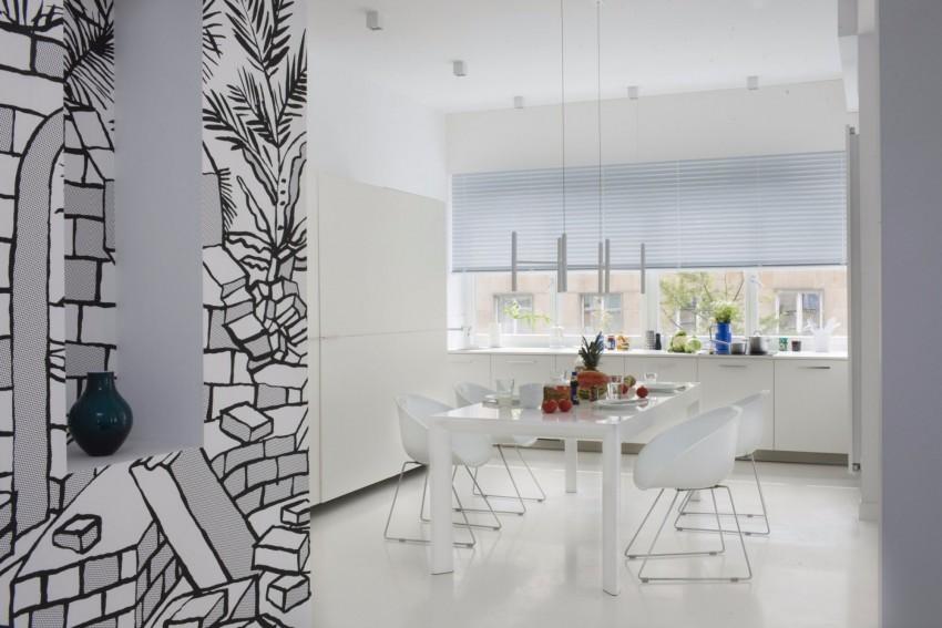 апартамент в бяло с артистична стена - 6