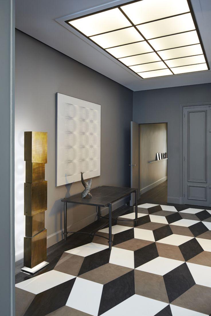 геоемтрични шарки коридор