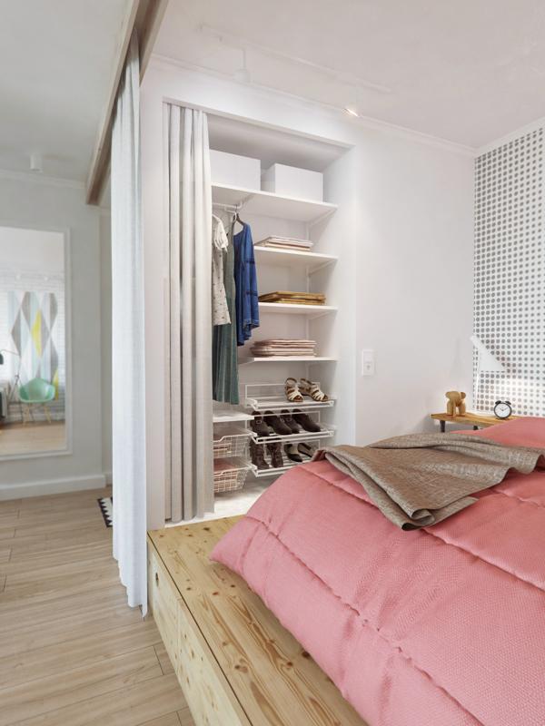 малък апартамент на 4 зони - 4