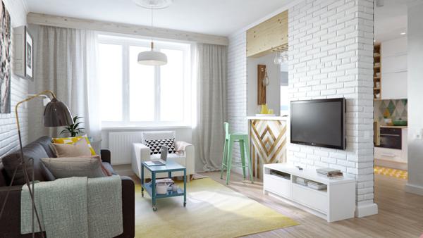 малък апартамент на 4 зони - 7