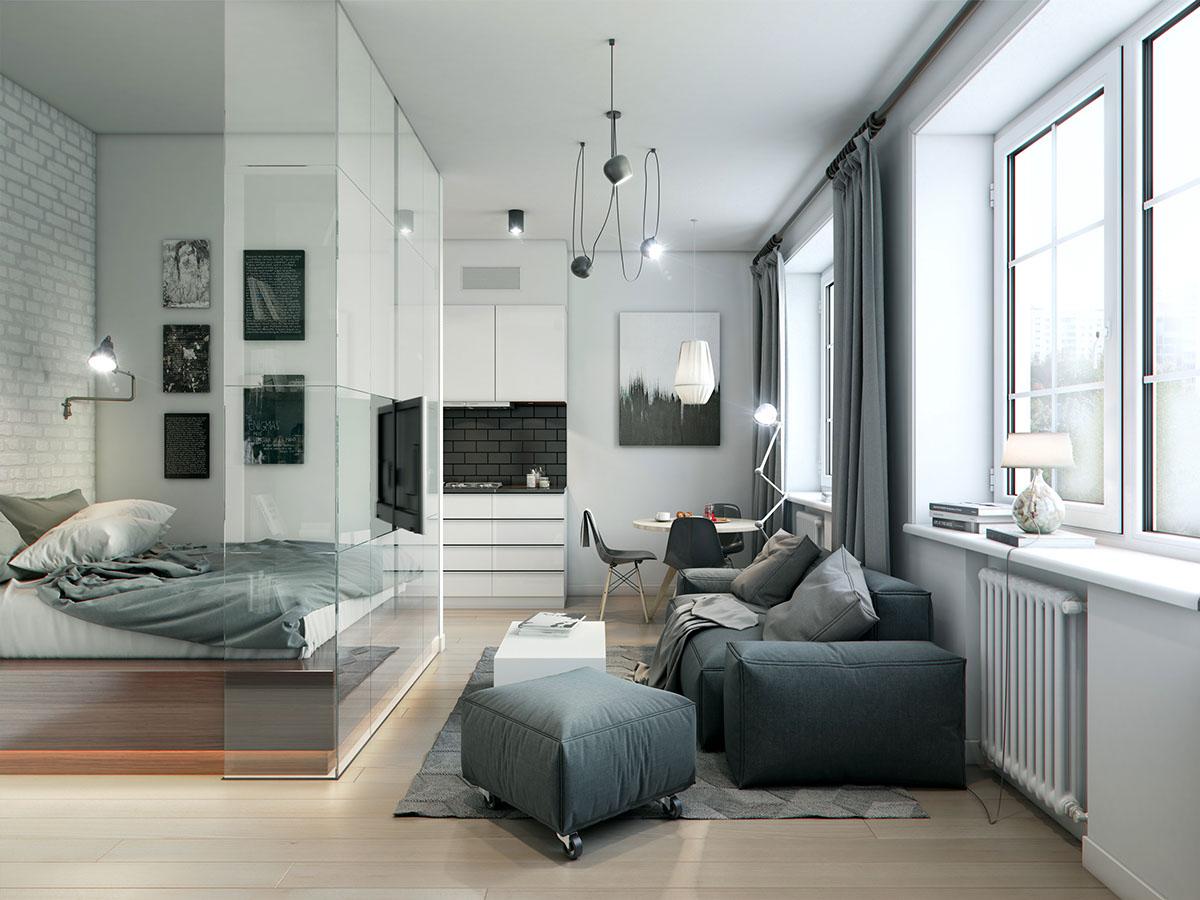 много малък апартамент 32 кв. м- 1