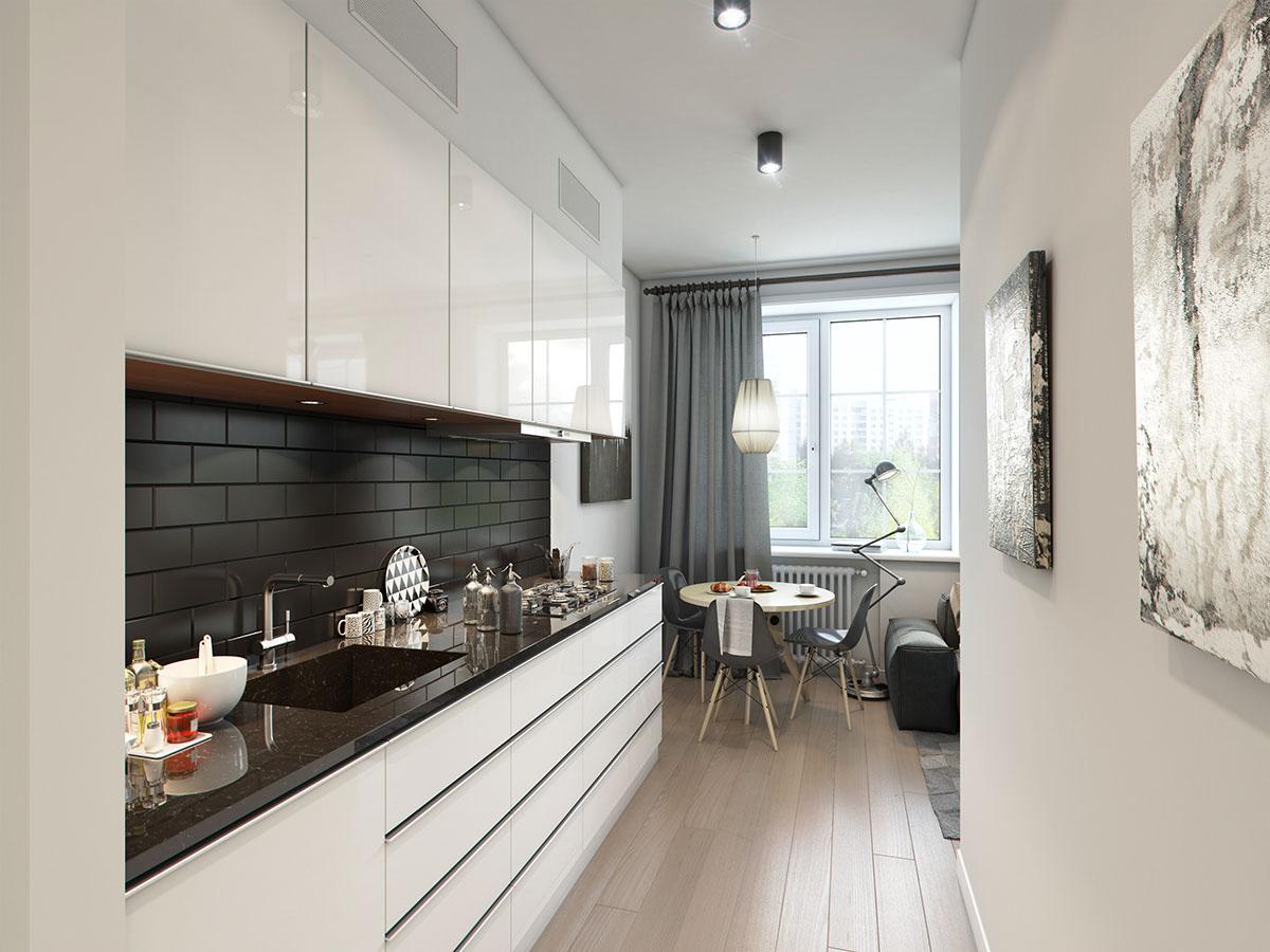 много малък апартамент 32 кв. м-  2