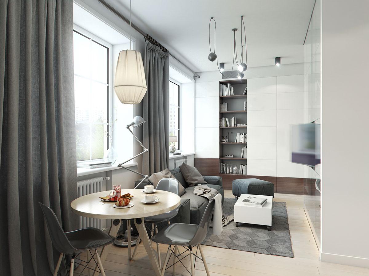 много малък апартамент 32 кв. м- 3