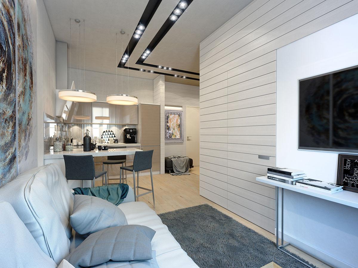 много малък апартамент 35 кв. м - 2