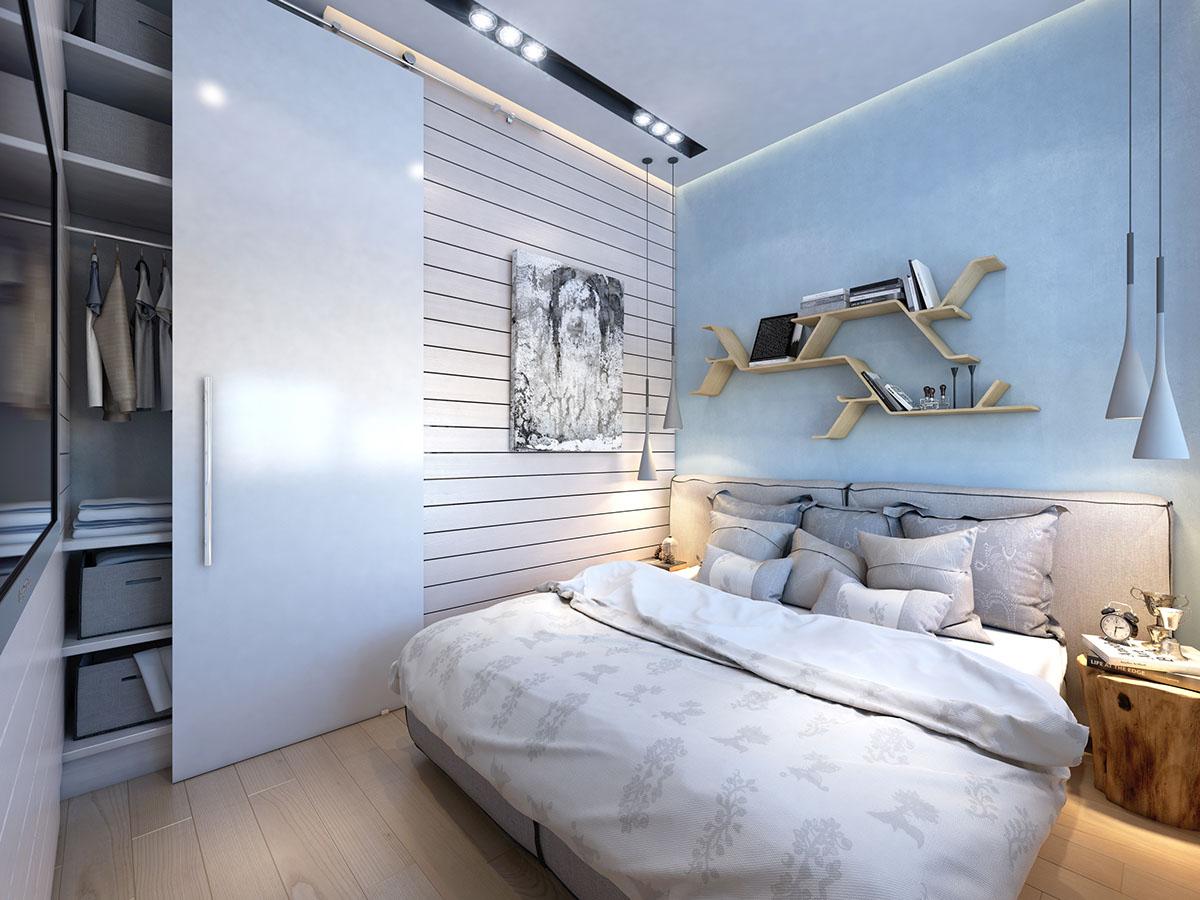 много малък апартамент 35 кв. м - 5
