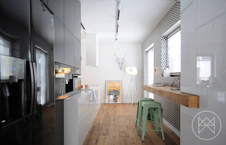 свеж и модерен апартамент 9