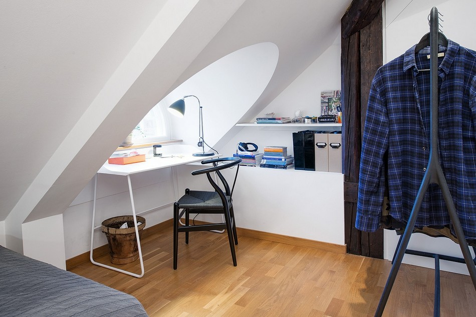 таванско жилище в Швеция - 10