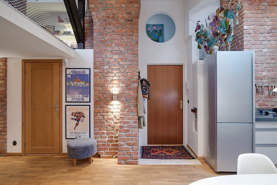 таванско жилище в Швеция - 15