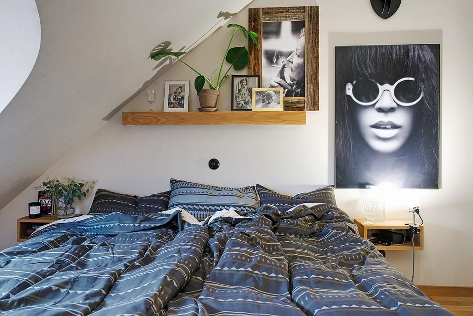 таванско жилище в Швеция - 5