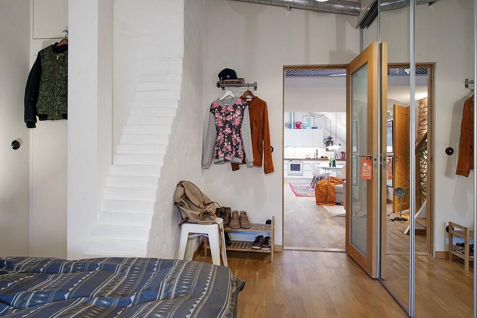 таванско жилище в Швеция - 6