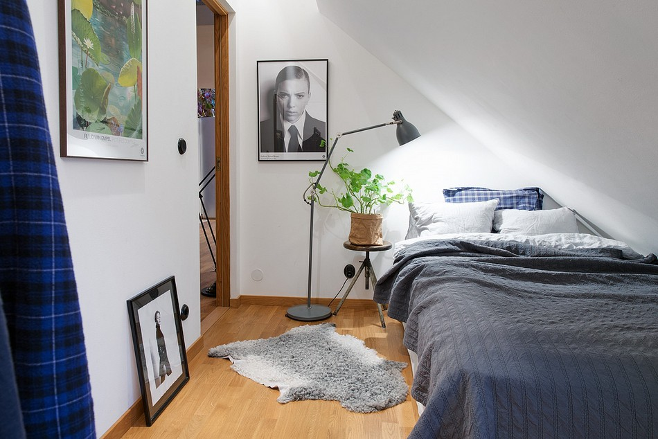 таванско жилище в Швеция - 7