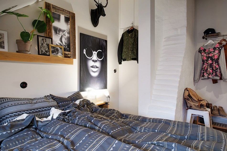 таванско жилище в Швеция - 8