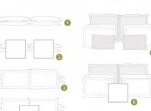 как да подредиш възглавниците на леглото