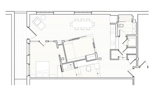 апартамент с интересно разпределение - 9