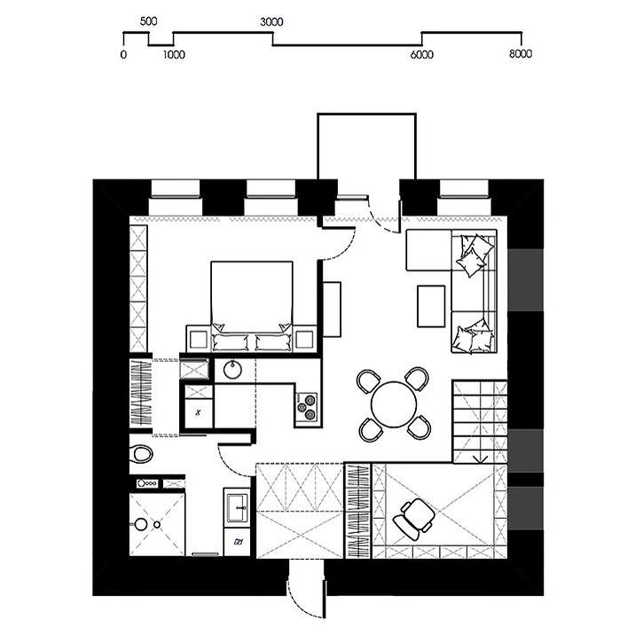 апартамент с хитро разпределение - 16