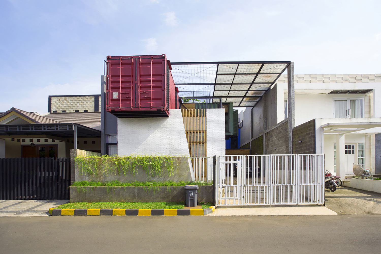 градската къща от контейнери - 1