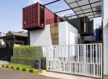 градската къща от контейнери - 14